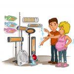 Baby Heizstrahler - worauf Sie beim Kauf achten müssen